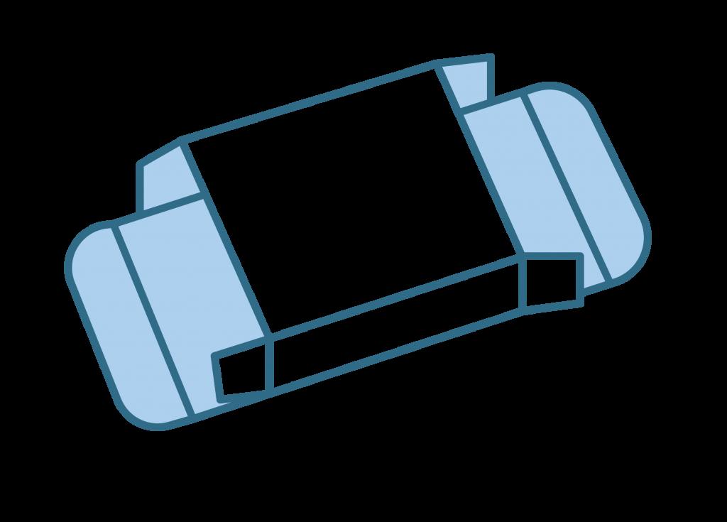 chipboard box diagram